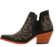Load image into Gallery viewer, Crush by Durango Black Western Fashion Bootie