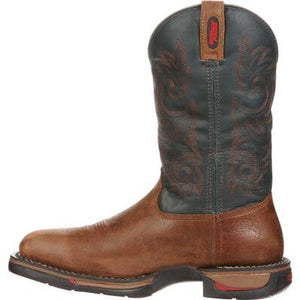 MEN'S ROCKY LONG RANGE WATERPROOF WESTERN BOOT
