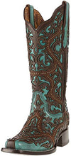 Load image into Gallery viewer, Women's CORRAL Turquoise Fashion Western Boot