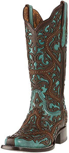 Women's CORRAL Turquoise Fashion Western Boot