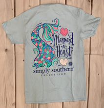 Load image into Gallery viewer, Simply Southern MERMAID S/S Tee