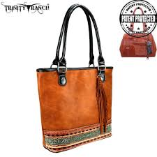 Trinity Ranch Brown Handbag