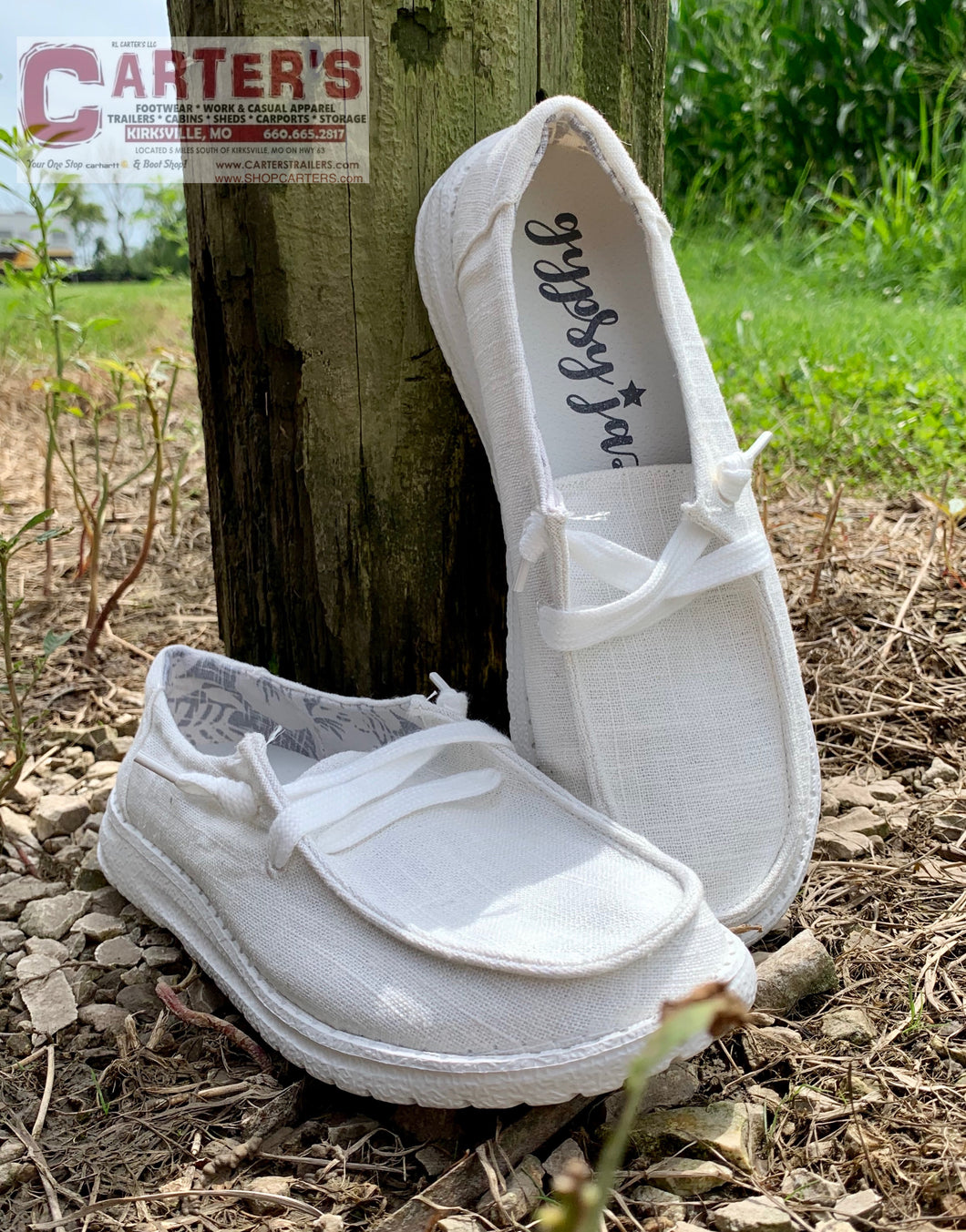 GYPSY JAZZ WHITE HOLLY SNEAKERS