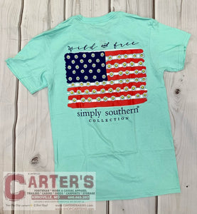 Simply Southern WILD & FREE S/S Tee