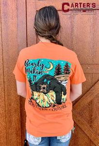 WOMEN'S SOUTHERN COUTURE BEARLY MAKING IT TEE
