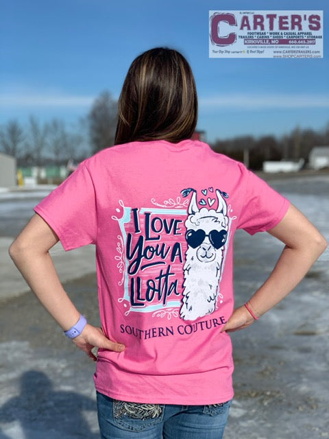 Southern Couture Love You A LLotta S/S Tee