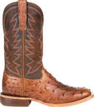 Load image into Gallery viewer, MEN'S DURANGO® PREMIUM EXOTIC FULL-QUILL OSTRICH WESTERN BOOT