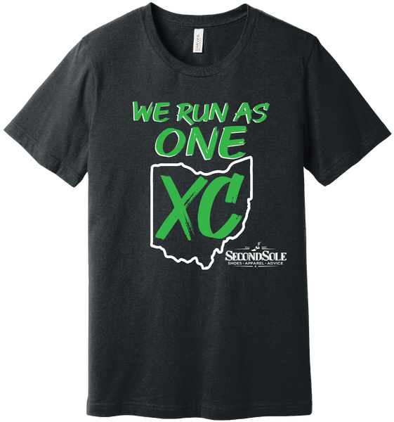 WE RUN AS ONE CROSS COUNTRY TEE