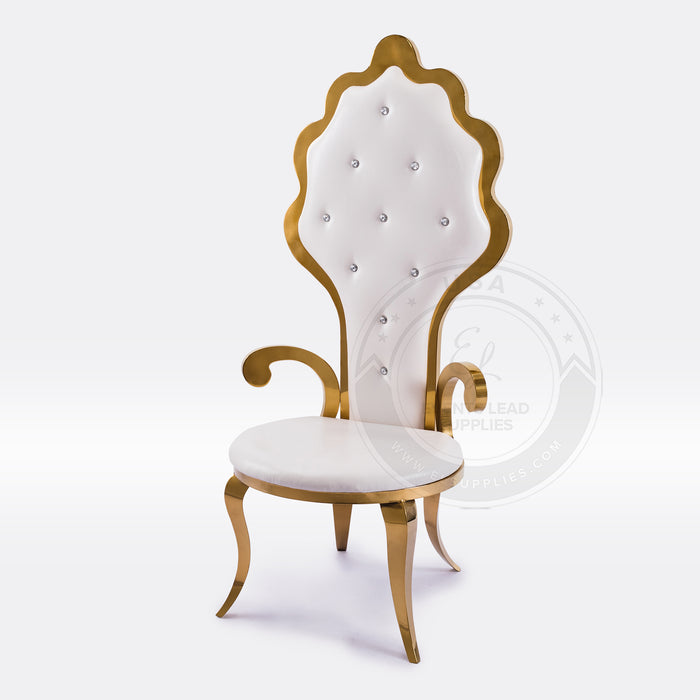 APHRODITE Sweetheart Throne Chair (Set of 2)