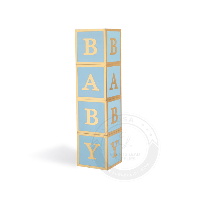 SHAI BABY Shower Block Letters