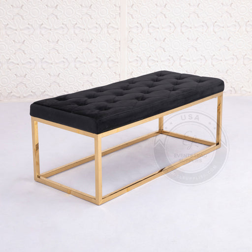 BELLONA Velvet Bench Sofa