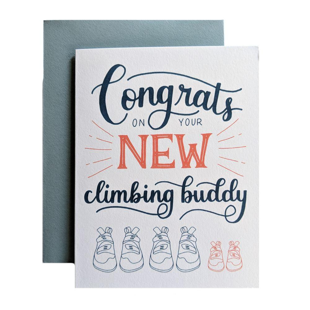 Congrats on your New Climbing Buddy - Amber Share Design-Default Title--