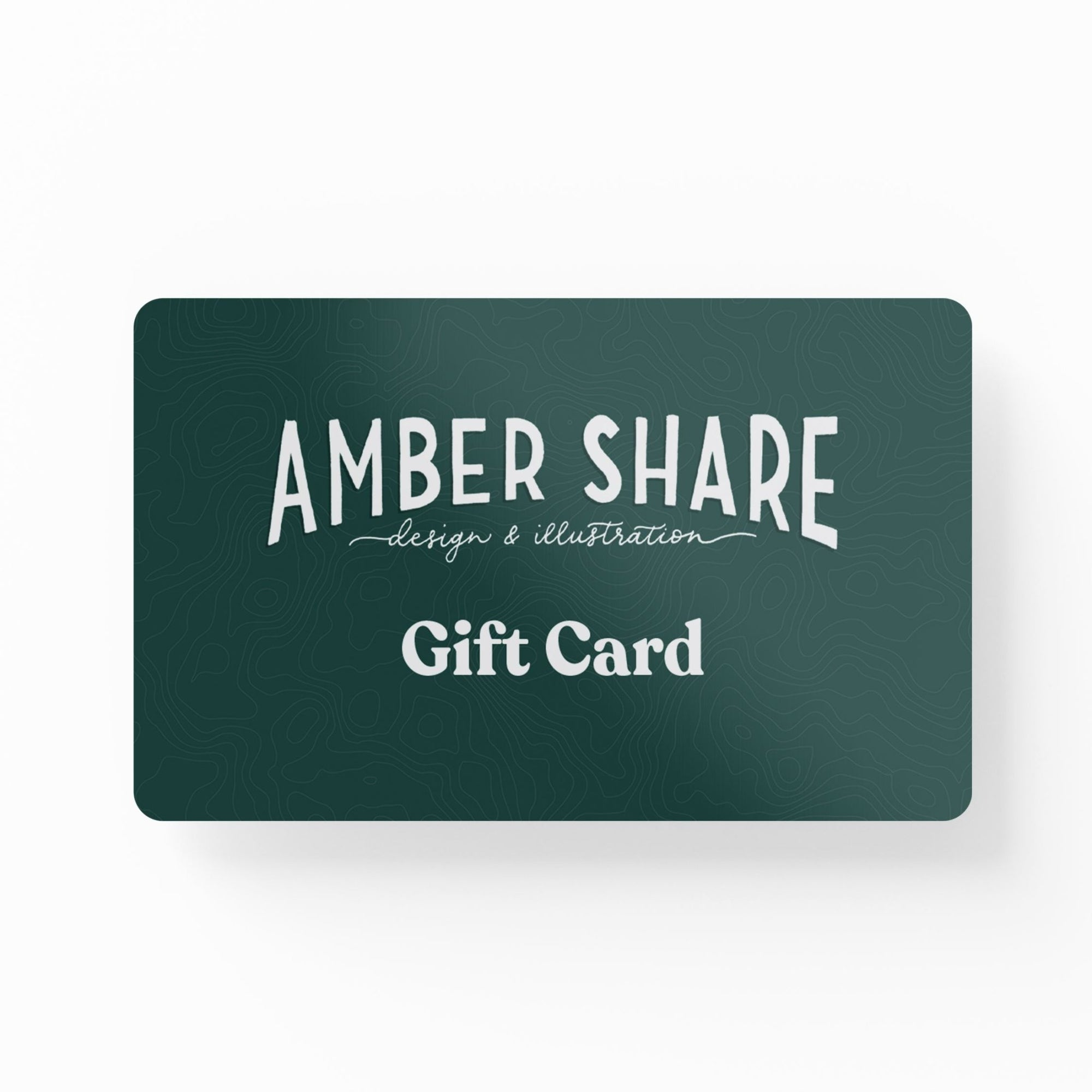 Gift Card - Amber Share Design-$10.00--