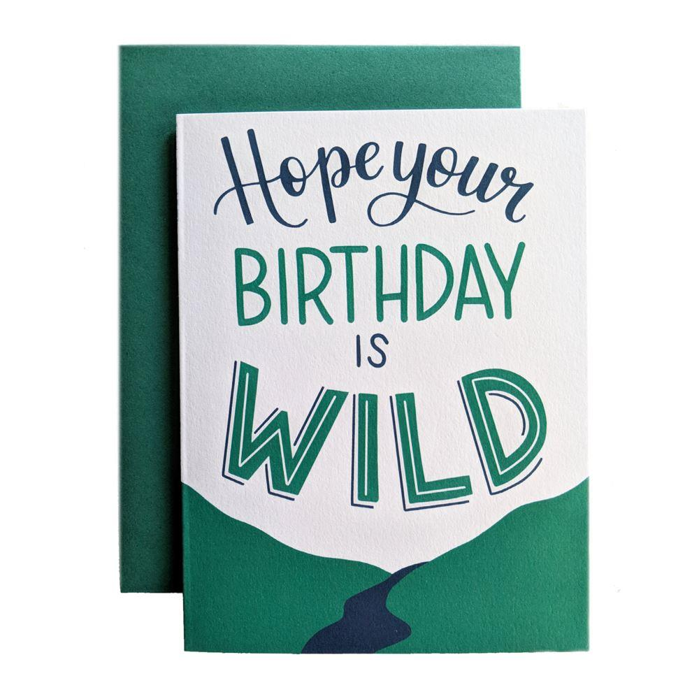 Hope Your Birthday Is Wild - Amber Share Design-Default Title--