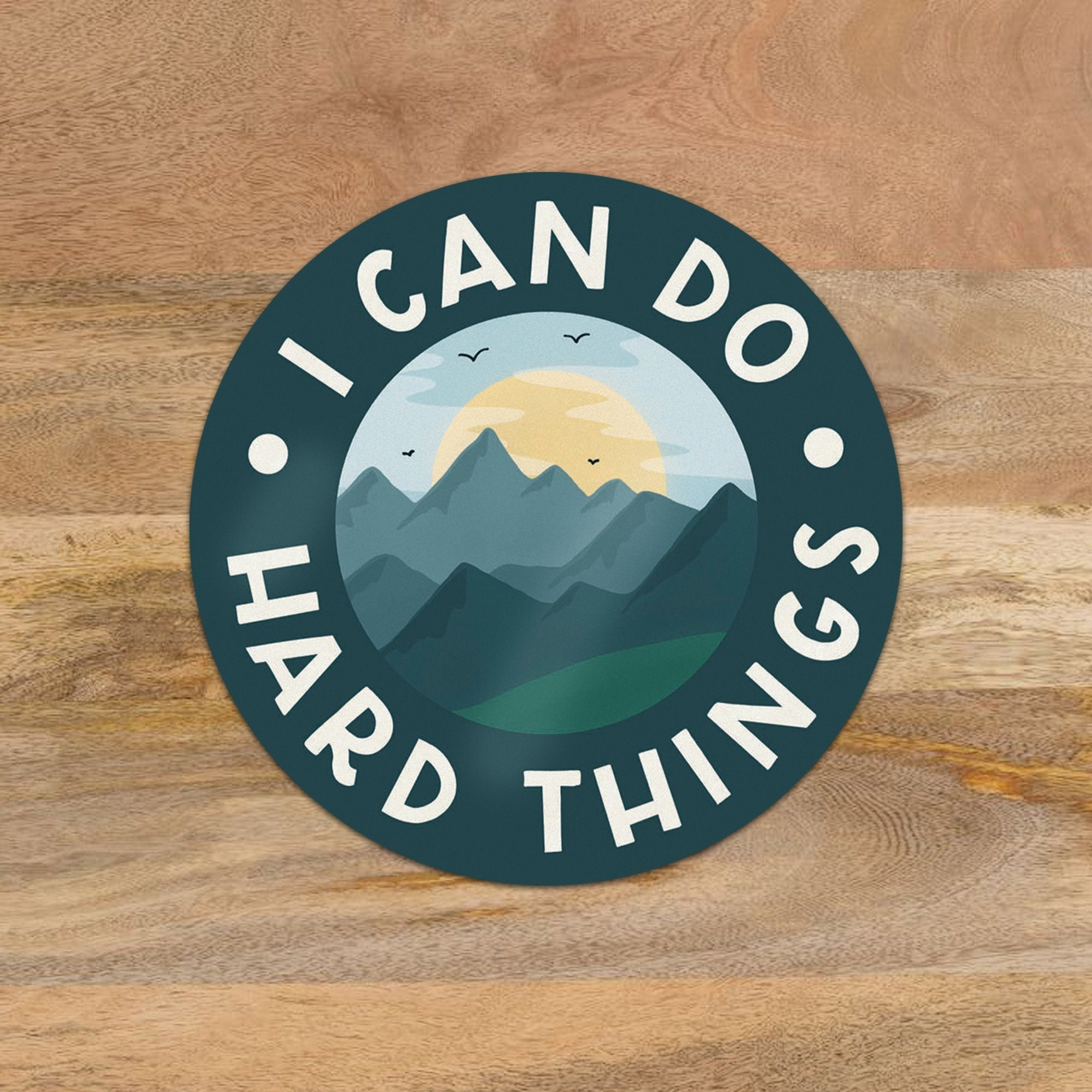 I Can Do Hard Things Sticker - Amber Share Design-Default Title--
