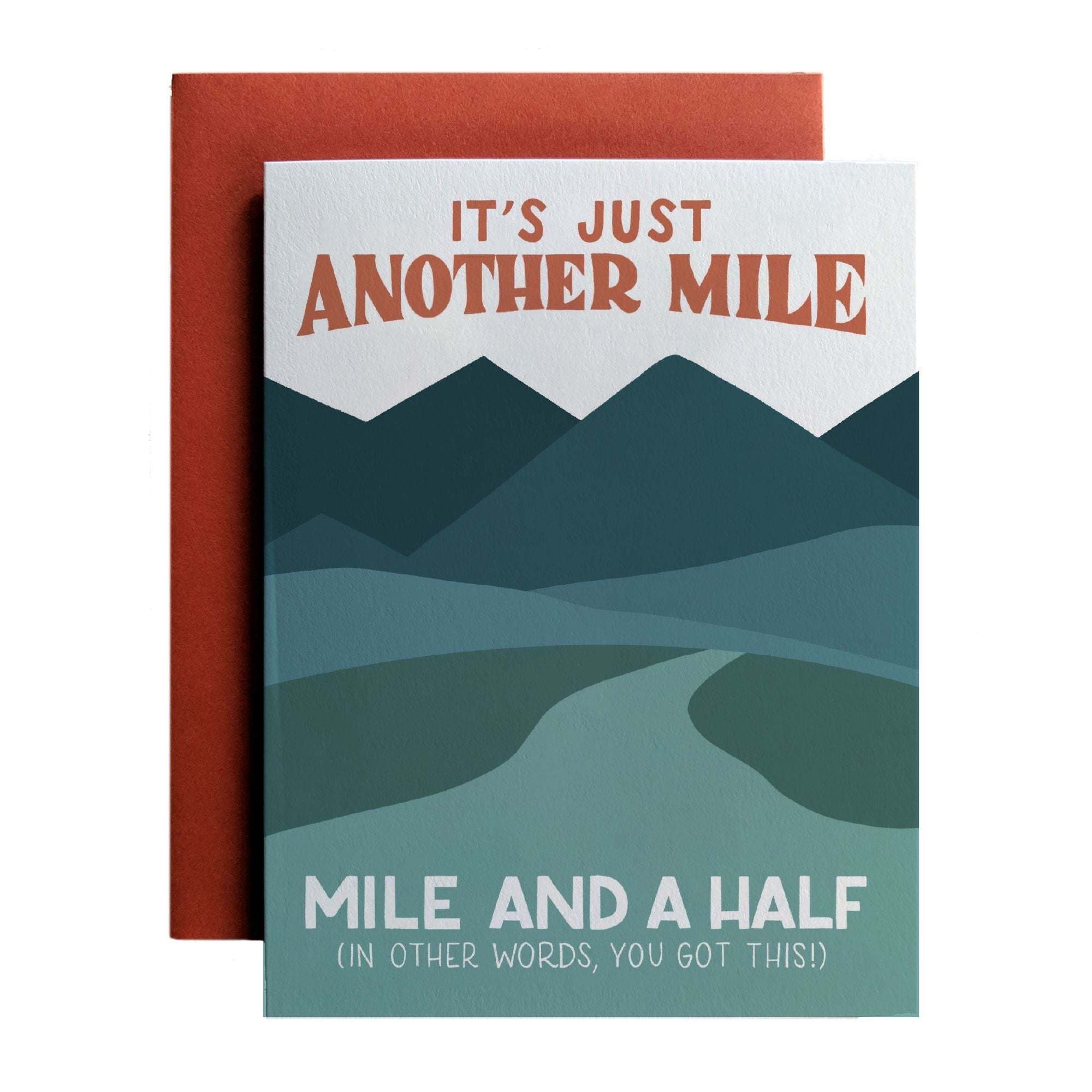 Just Another Mile, Mile And A Half - Amber Share Design-Default Title--