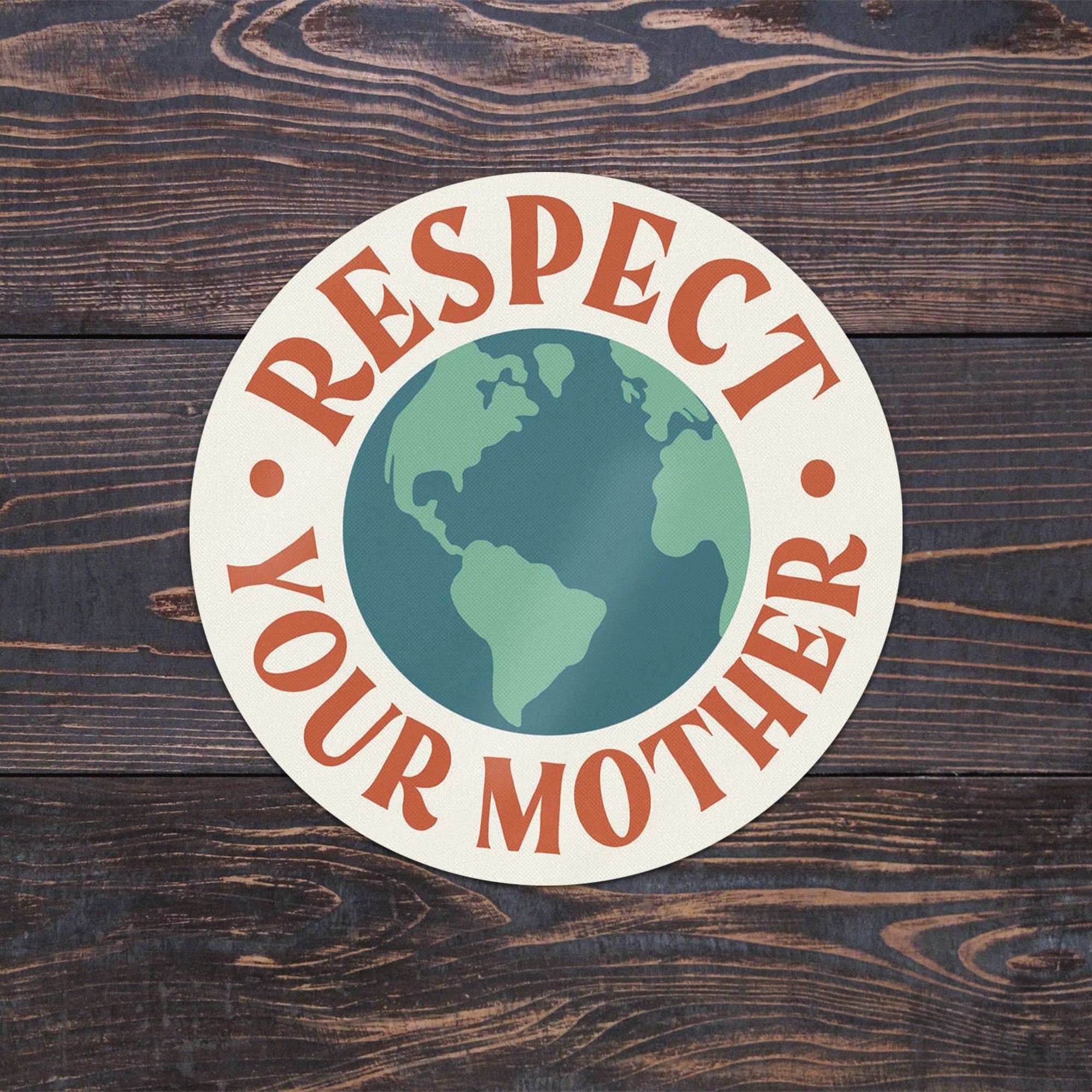 Respect Your Mother Sticker - Amber Share Design-Default Title--
