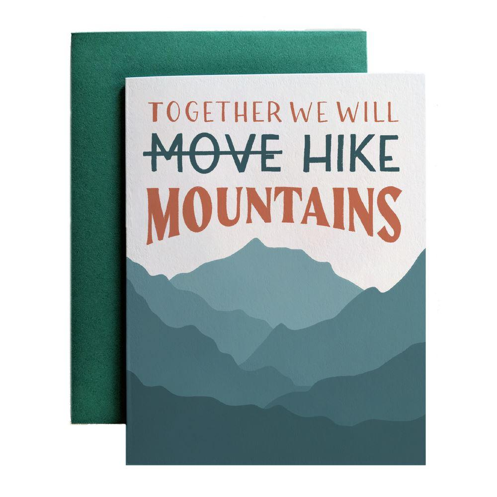 Together We Will Hike Mountains - Amber Share Design-Default Title--
