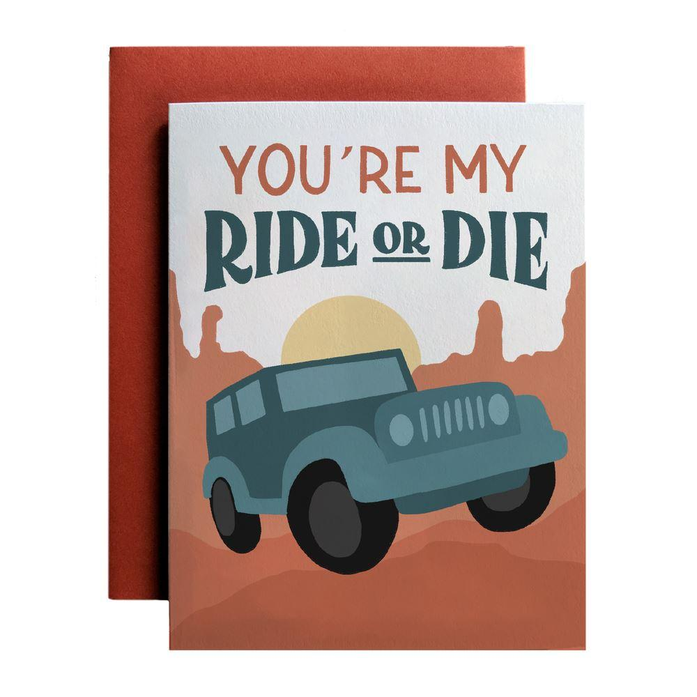 You're My Ride Or Die - Amber Share Design-Default Title--