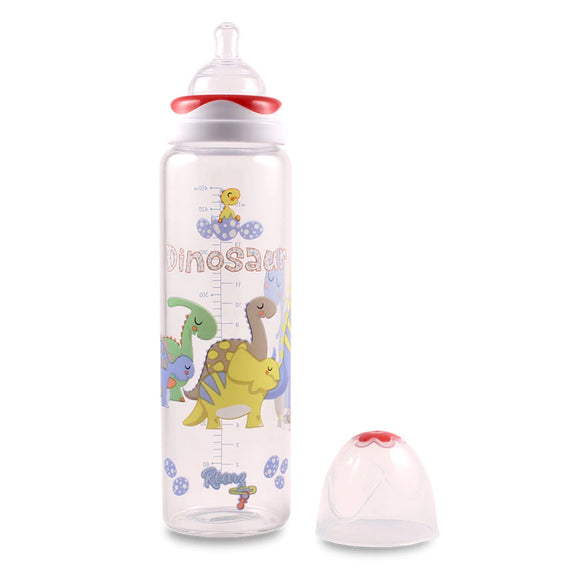 The Dinosaur Glass Adult Baby Bottle.
