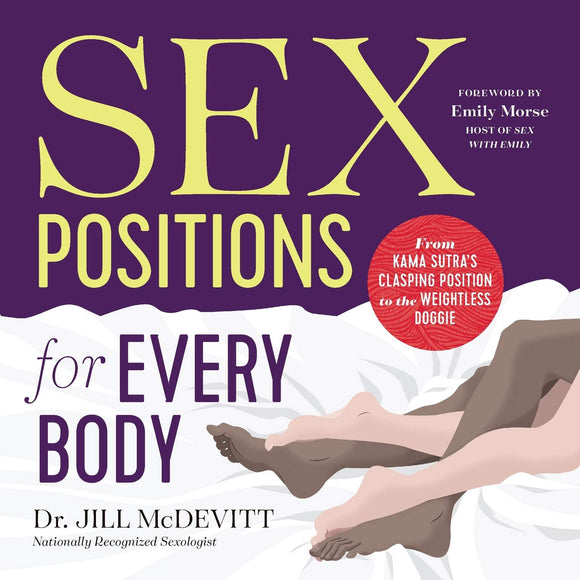 The front cover of Sex Positions for Every Body.