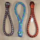 An assortment of three braided look cable slappers.