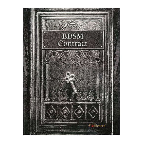 The front cover of BDSM Contracts