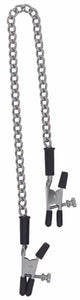 Adjustable Alligator Clamps With Link Chain.