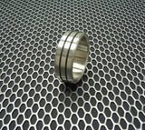 Accent Brushed SS Cock Ring