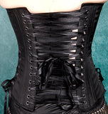 Satin Corset W/Side Lace