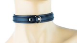 2 Layer Discreet Leather Choker