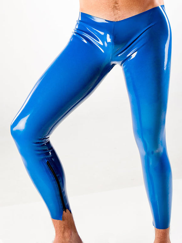 Men's Latex Jock Leggings