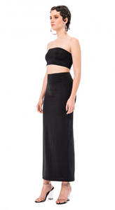 Basic Bandeau & Maxi Skirt Set
