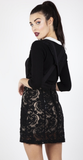 Lace Suspender Skirt