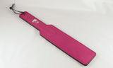 The Nicki Pink Leather Paddle.
