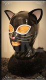 Latex Kinky Kitty Hood