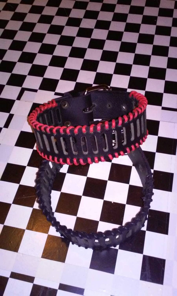 Stitched Leather Armband
