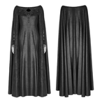 Textured Cape Gown