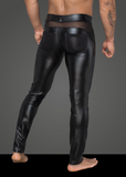 Power Wetlook and Net Pants back