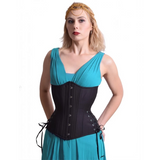 Cotton/Cashmere Blend Hourglass Longline Cincher