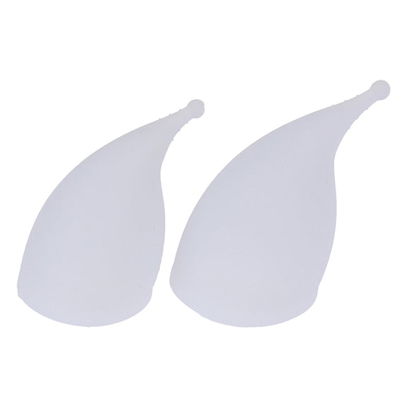 Curved Silicone Menstrual Cup