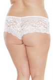 Low Rise Lace Booty Short