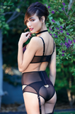 Gina Embroidery Lingerie Set