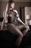 Back to Black Lace Bodystocking