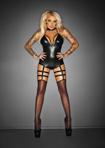 Outrageous Bodysuit with Garters