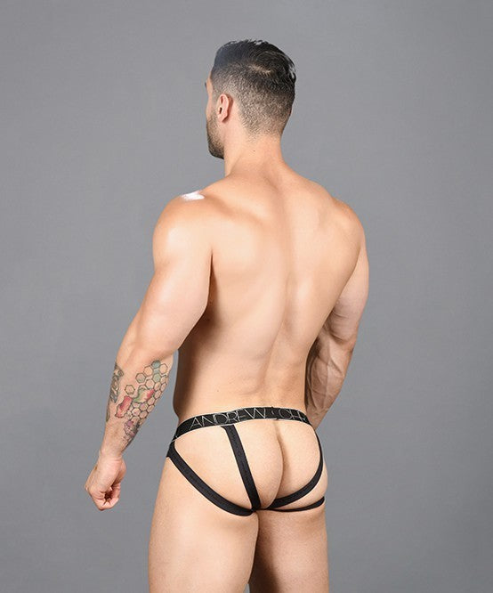 Sheer Leopard Brief Jock w/ Almost Naked