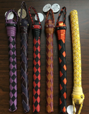 Six Braided Jacks in assorted colors.