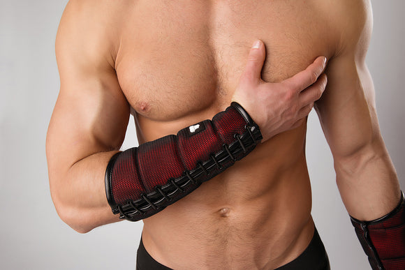 Armored Forearm Guard with Wallet