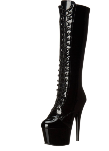 Adore Knee High Lace-up to the Knee Boot