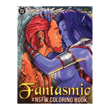 The front cover of the Fantasmic NSFW Coloring Book.